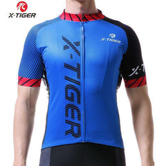 X-TIGER Quick Dry Cycling Jersey- - GoodsByAdrian