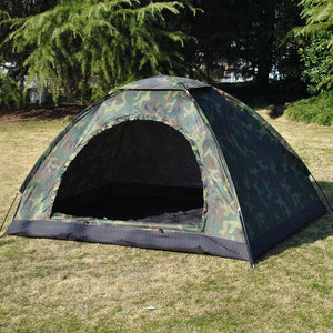 2 Person Single Layer Camouflage Outdoor Camping Tent