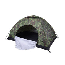 Load image into Gallery viewer, 2 Person Single Layer Camouflage Outdoor Camping Tent
