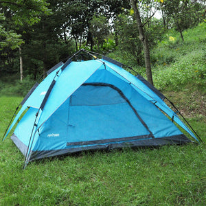 Outdoor Camping Hiking Tent 2-4 People Waterproof Automatic Instant Pop Up Tent