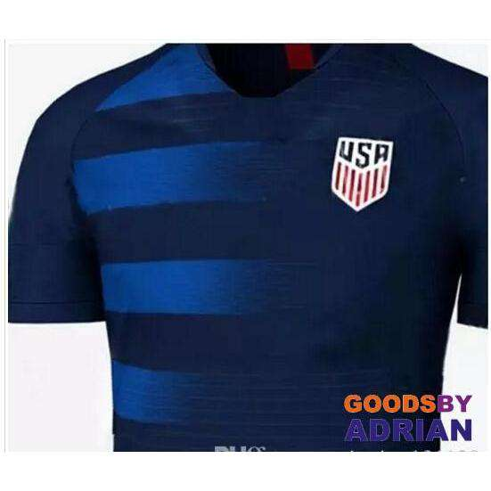 PULISIC USA 2018 World Cup Kit United States United States National Team Away Shirt-GoodsByAdrian