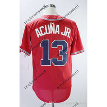 Load image into Gallery viewer, #13 Ronald Acuna Jr. Atlanta Braves Jersey-Heat Therapy - GoodsByAdrian