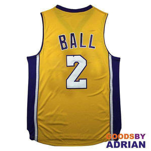Lonzo Ball Los Angeles Lakers Stitched Jerseys-Basketball Jerseys - GoodsByAdrian