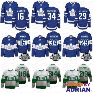 Toronto Maple Leafs Jerseys Auston Matthews, Mitch Marner, Nylander 100th 2017 Centennial Classic-GoodsByAdrian