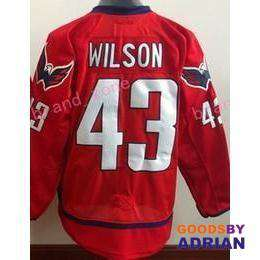 Washington Capitals Stitched Jerseys Oshie, Ovechkin, Holtby, Backstrom, Kuznetsov-Hockey Jerseys - GoodsByAdrian