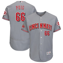 Load image into Gallery viewer, Yasiel Puig Cincinnati Reds Jersey