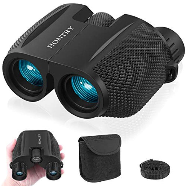 Compact 10x25 HD Binoculars for Hunting, Theater and Concerts, Bird Watching and Sports Games - Elliott's Outdoor Store