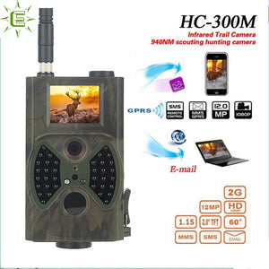 Hunting Trail Camera HC-300M Night Vision MMS GPRS
