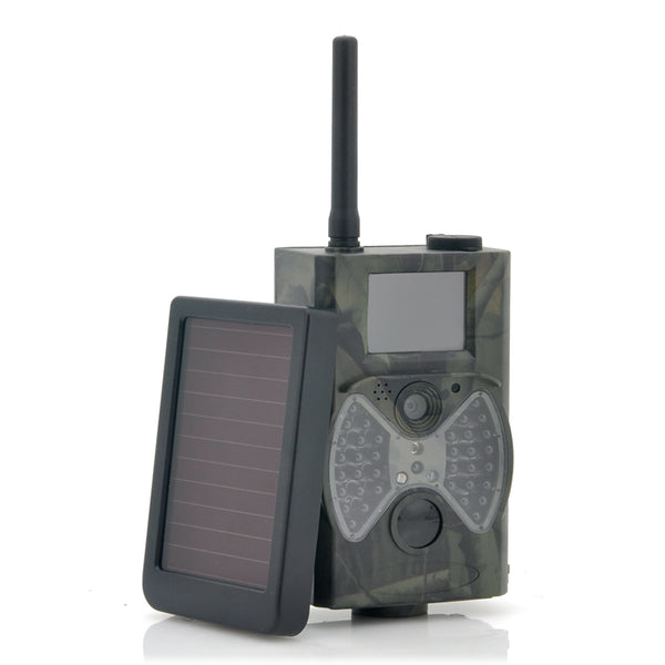 HC300M Trail Camera + Solar Panel Battery Charger