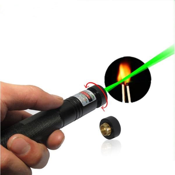 High Power Green beam Laser Flashlight