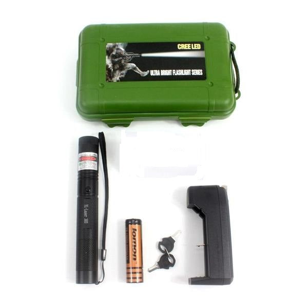 High Power Green beam Laser Flashlight - Elliott's Outdoor Store