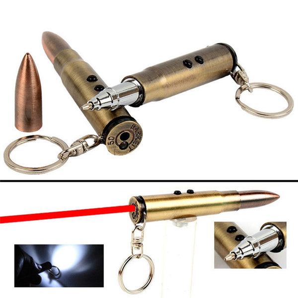 3 in 1 Pointer LED Flashlight Key Ring. - Elliott's Outdoor Store