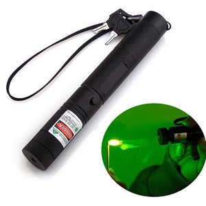High Power Green 303 Laser Flashlight with 2 Safe Keys