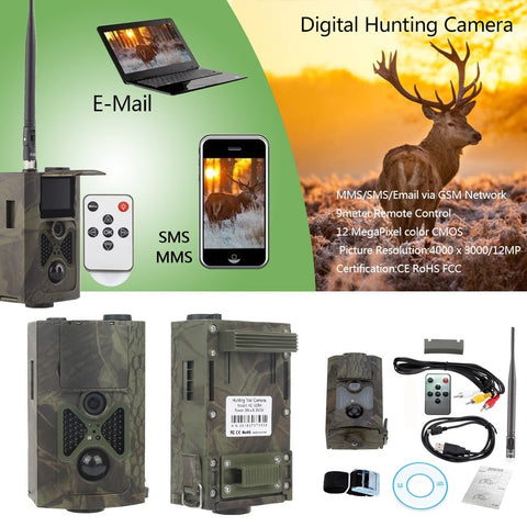 HD Hunting Trail Camera HC-350M