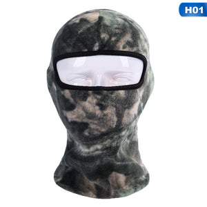 Camo Thermal Fleece Balaclava