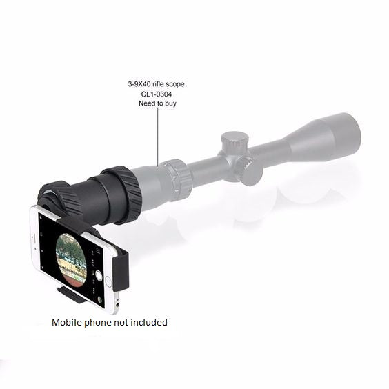 Tactical Camera Holder For Scope Mount