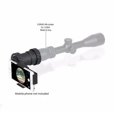 Tactical Camera Holder For Riflescope