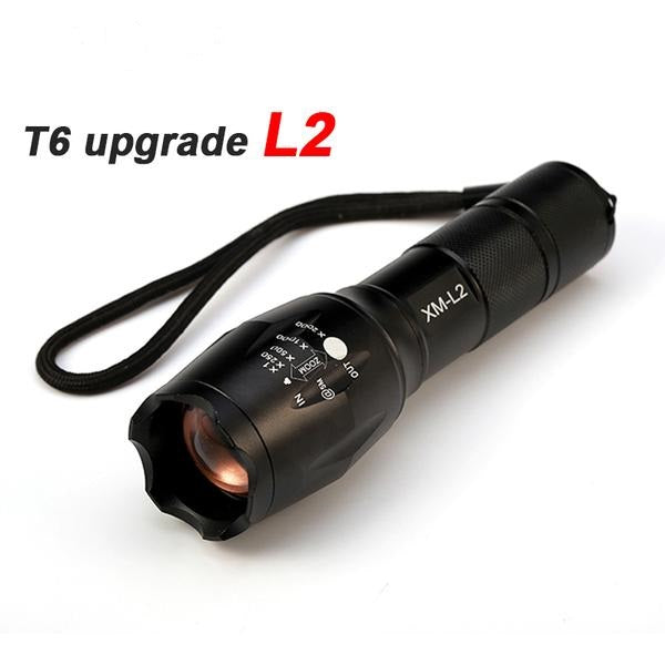 Tactical Flashlight E17 CREE XM-L2 - Elliott's Outdoor Store