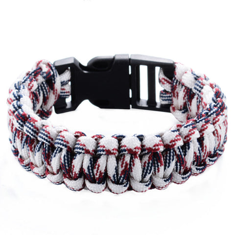 Outdoor Paracord Survival Bracelets For Men and Women