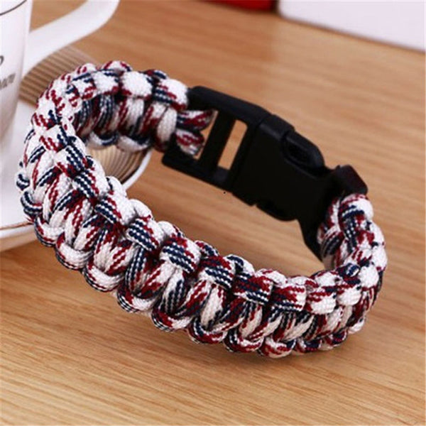 Outdoor Paracord Survival Bracelets For Men and Women - Elliott's Outdoor Store