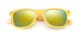 Bamboo Sunglasses - Yellow Frame