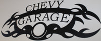 Chevy Garage Metal Wall Decor