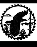 Eagle Saw blade Sign Metal Wall Art