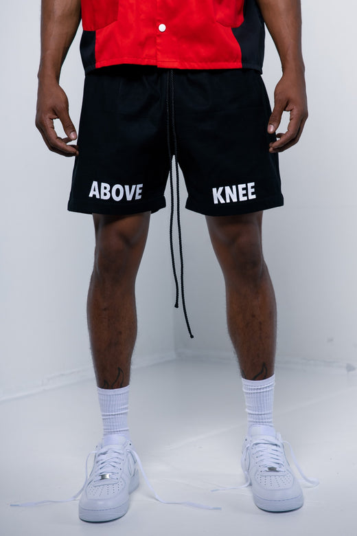 ABOVE THE KNEE SHORTS