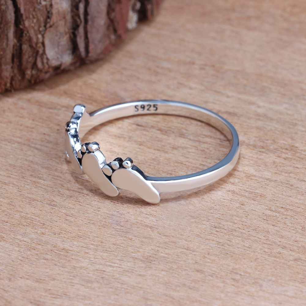 My Little Feet 925 Sterling Silver Ring – Looking For Offer