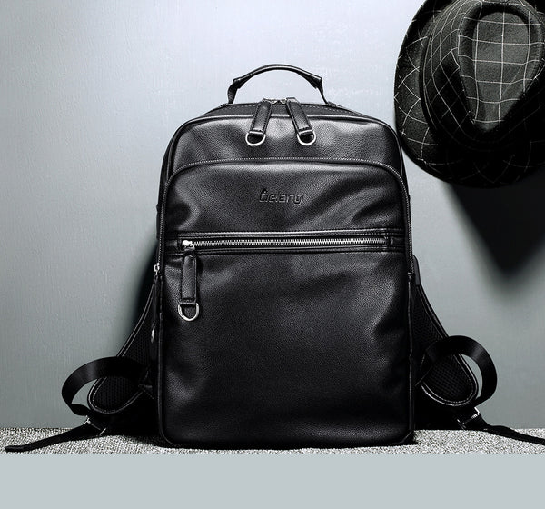 Damn My Backpack - Leather Laptop Backpack