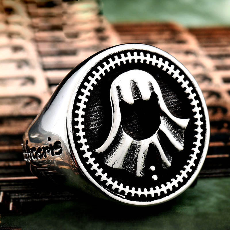 Game Of Throne Jaqen H'ghar Faceless Ring Stainless Steel Ring