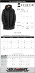 Long Warm Thicken Cotton Zipper Coat