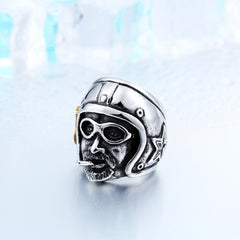 Motorcycle Man Stainless Steel Ring