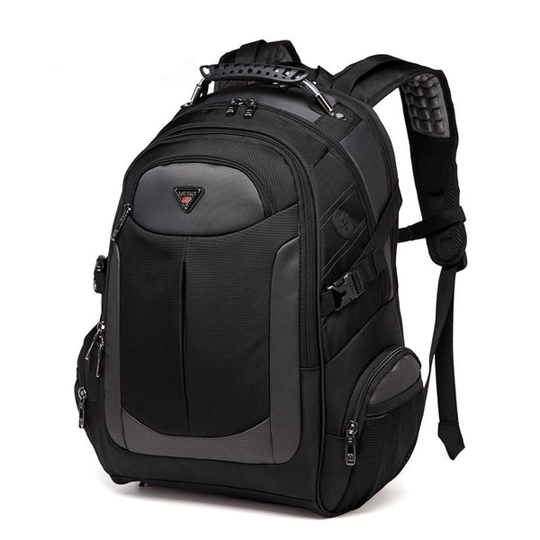 Multifunction Black Laptop Backpack