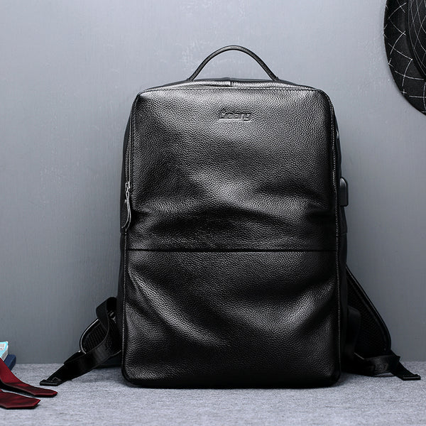 Smack my Backpack - Genuine Leather 15.6 inch Travel Backpack
