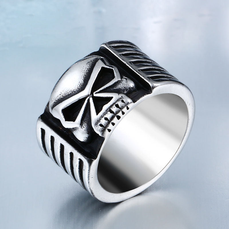 "The ""Gothic Skull""  316L Stainless Steel Ring"