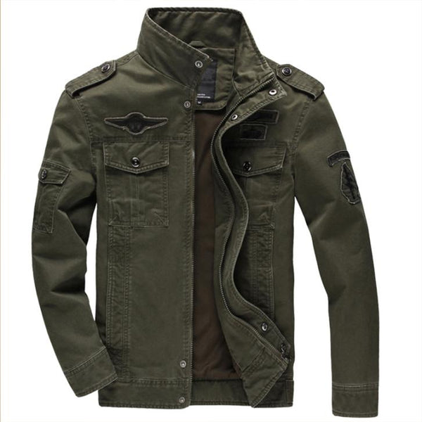 Men's Classic German army style Jacket - Various Colors