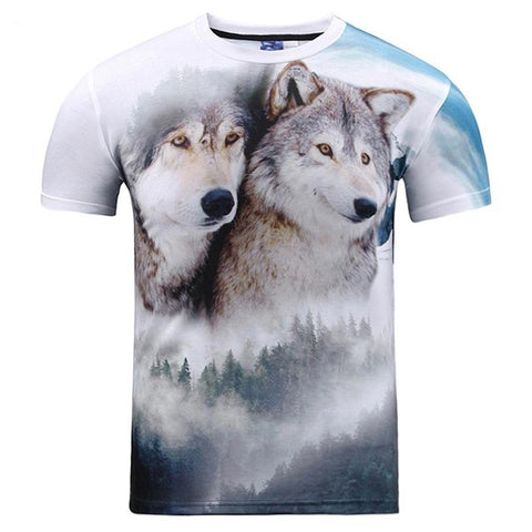 Wolves in Love - Printed T-Shirt