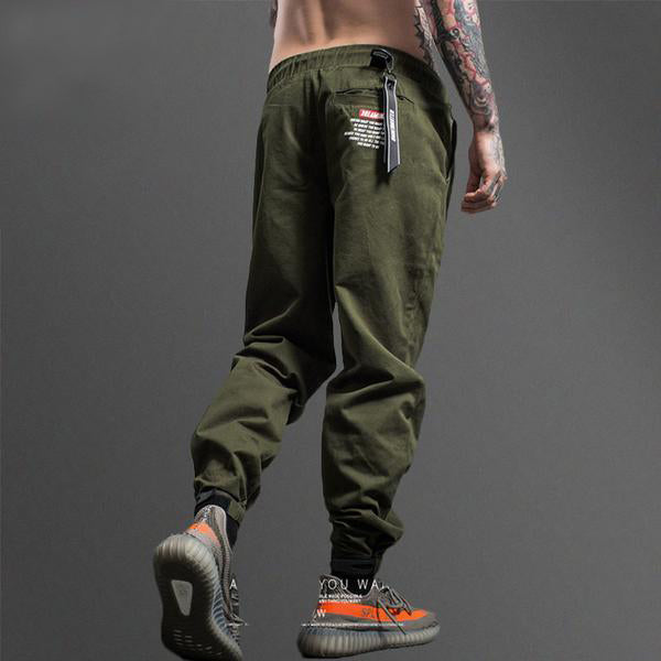 Camouflage Tactical Cargo Sweatpant - Black or Green