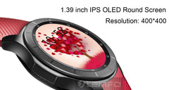 Original LEMFO LF16 Android 5.1 Smart Watch 1.39 inch OLED Screen  512MB+8GB Bluetooth Watch Heart Rate