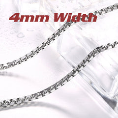 Stainless Steel High Quality Long Necklace Chain 45cm-75cm