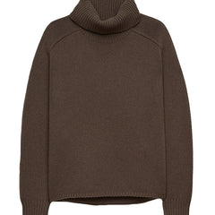Apparel Solid Color Turtleneck Sweater