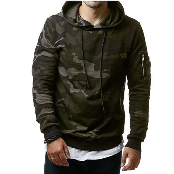 Men Military camouflage sweatshirt Pullover