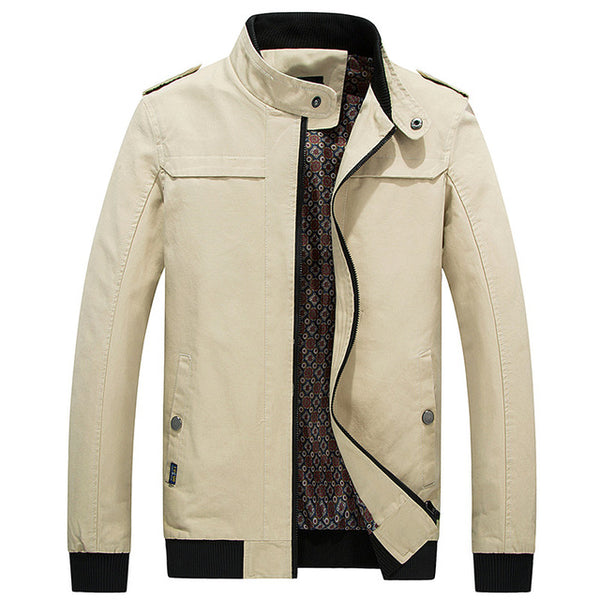 Cool Luxury Men's Fashion Jacket - Various Colors