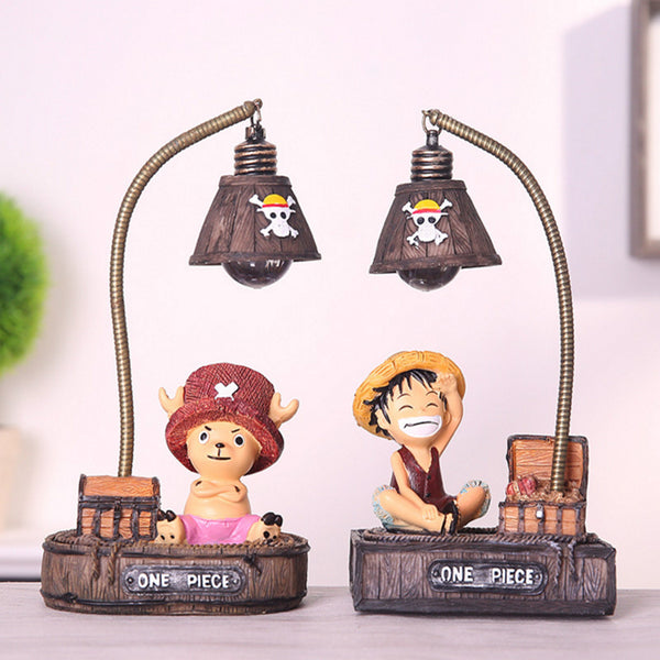 One piece Pirate King Resin Lamp