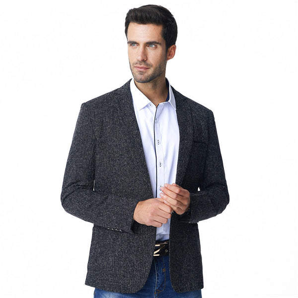 Black Business Slim Fit Blazer