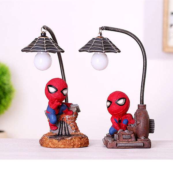 Spider man Figure Resin Lamp