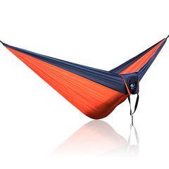 Big Size Gray Orange Gray Nylon Hammock 300cm x 200cm