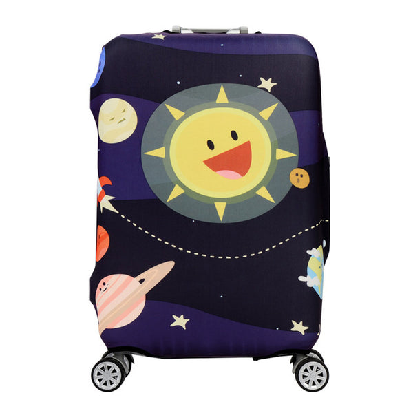 Happy Galaxy - New elastic protective luggage cover