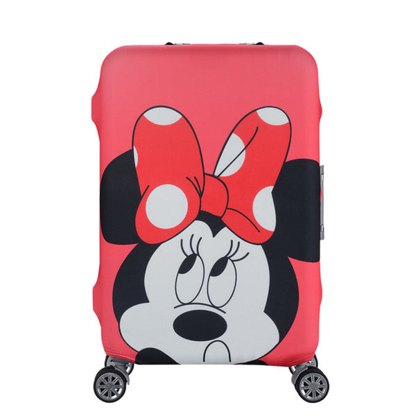 Minnie Mouse - New elastic protective luggage cover